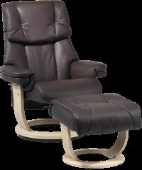 Læderlænestole