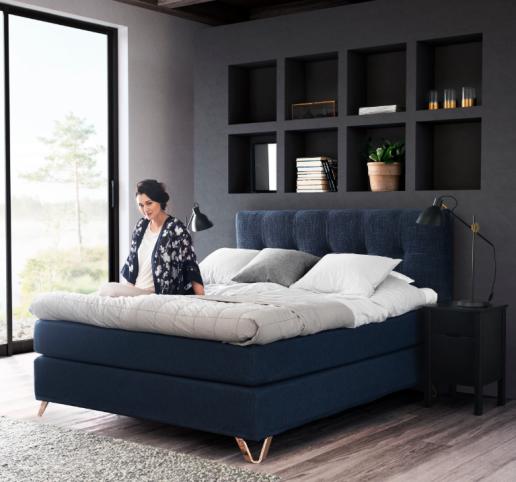 jensen prestige continental 180x200 softline i danbo m bler. Black Bedroom Furniture Sets. Home Design Ideas