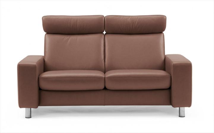 Ny Stressless Pause Høj 2 personers sofa - Danbo Møbler AV65