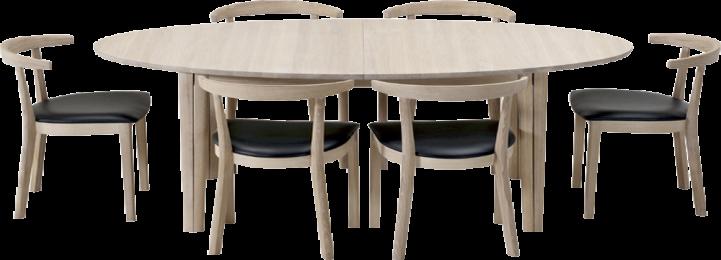 Skovby SM78 spisebord - Danbo Møbler